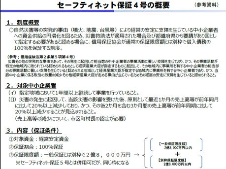 制度 危機 関連 保証 危機関連保証(中小企業信用保険法第2条第6項)について/泉大津市ホームページ